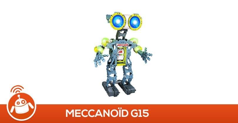 Mon ado a testé le robot MeccanoïdG15 de Meccano Tech