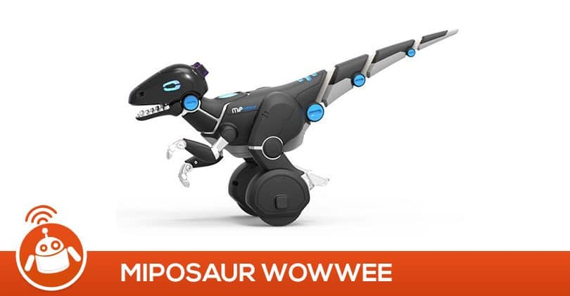 Mes enfants ont testé Miposaur le robot dinosaure connecté de WowWee