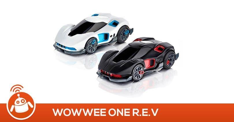 Mon fils a testé les voitures WowWee One R.E.V