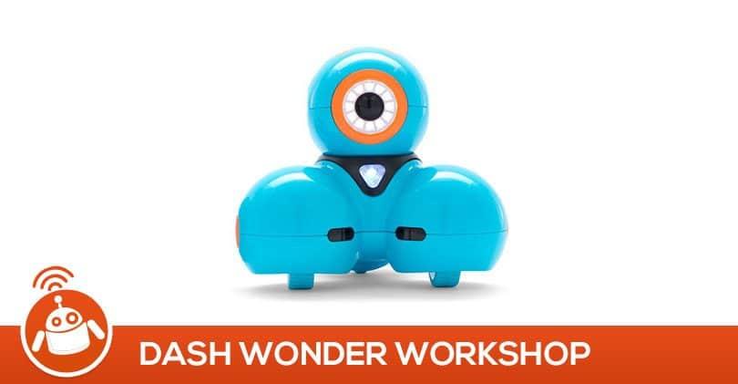 Apprendre à programmer dès 5 ans avec le robot Dash wonder workshop