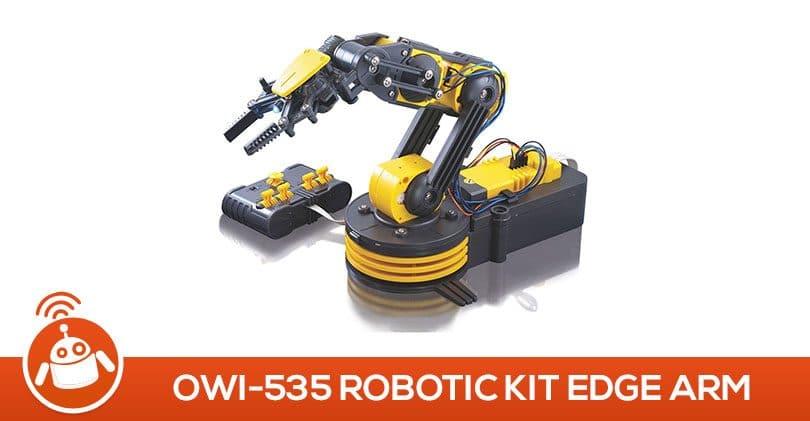 Après les lego, aujourd'hui je joue avec le OWI-535, robotic kit Edge Arm