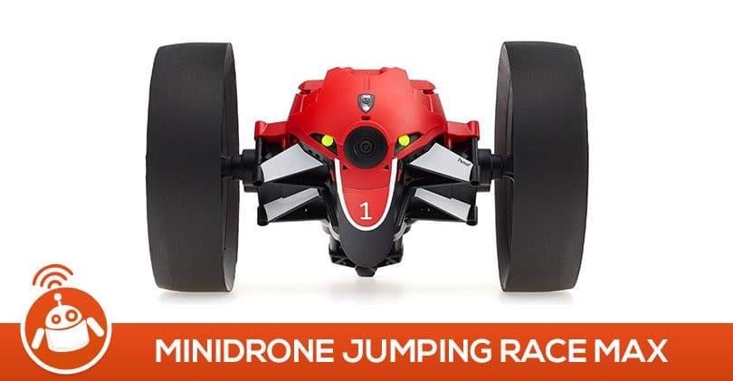 Mon fils de 10 ans a testé le Parrot MiniDrone Jumping Race Max Rouge