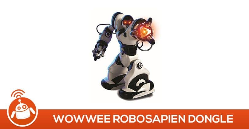 Mes fils ont testé le Robot Robosapien Dongle de WowWee