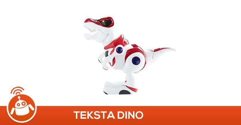 Mon garçon a testé le robot Teksta Dino