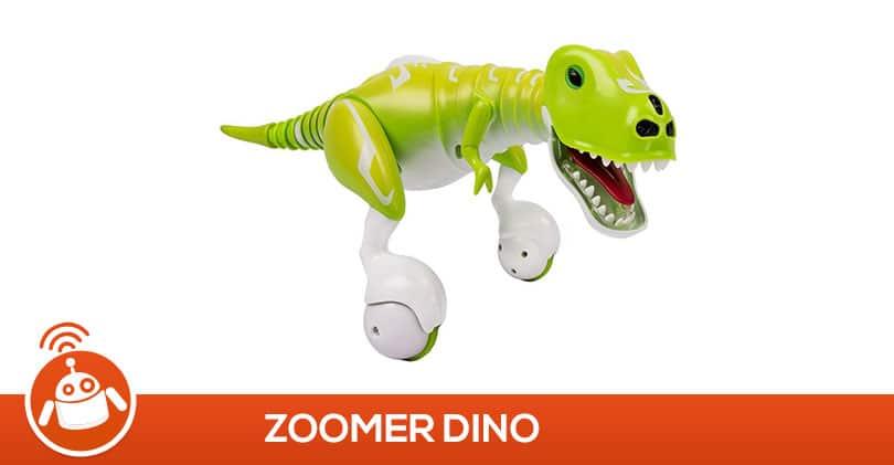Mon fils a testé Zoomer Dino le dinosaure robot interactif de SpinMaster