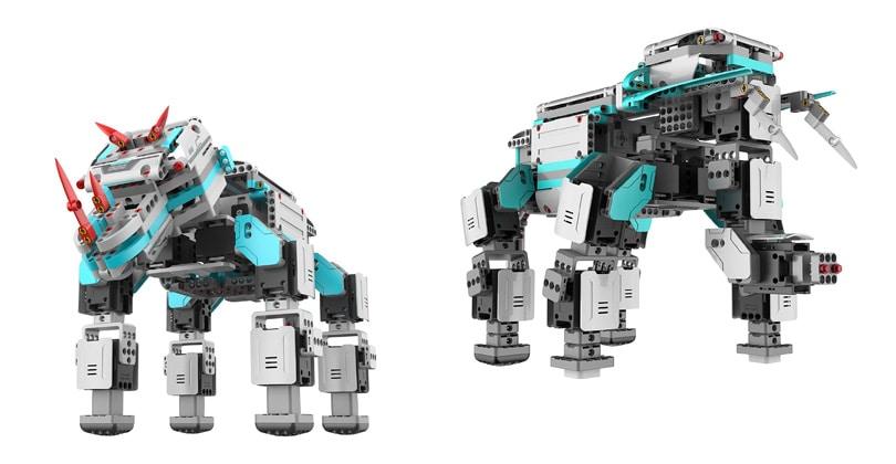 Un robot à construire par toute la famille: UBTech Jimu Inventeur