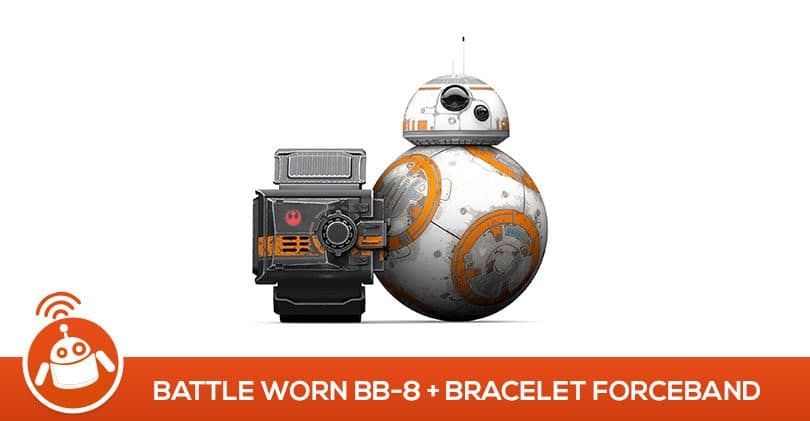 Mon avis sur le Sphero Battleworn Drone BB-8 avec Star Wars Force band bracelet