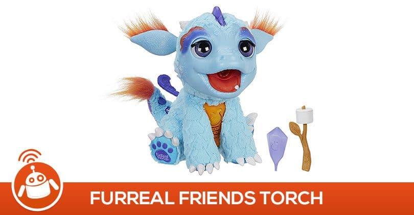 Attention, Dragon magique en vue avec FurReal Friends Torch