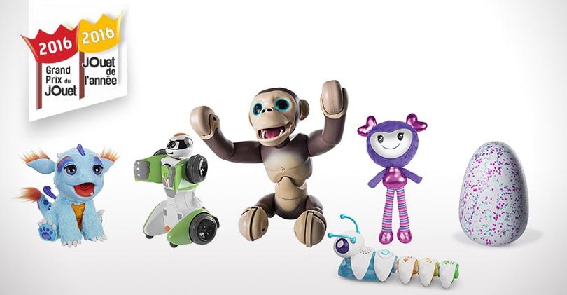 Les meilleurs jouets robots pour Noël 2016 - Grand Prix du Jouet 542e37889d3d