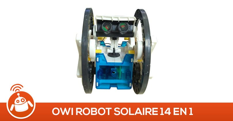 Mon fils de 10 ans a testé le Owi, robot solaire14 en 1