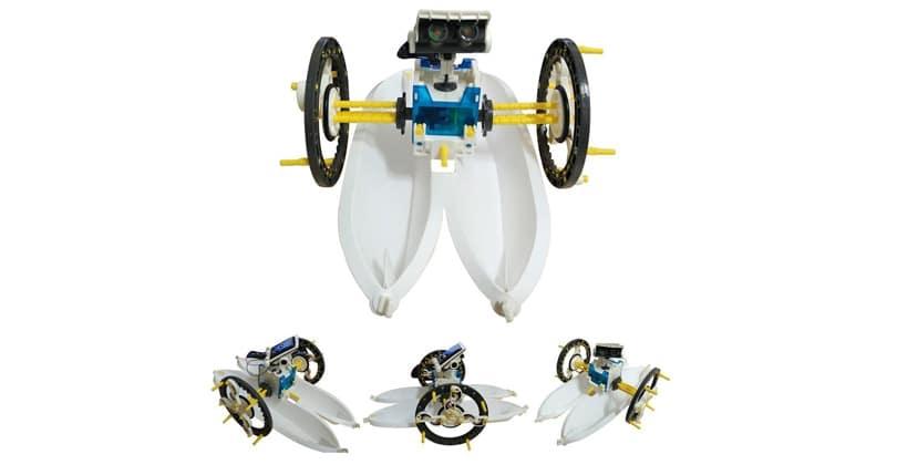 Lundi 10 et test Owi, robot solaire 14 en 1