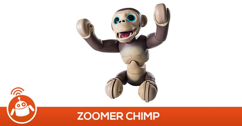 Zoomer Chimp: le meilleur robot du grand prix du jouet2016