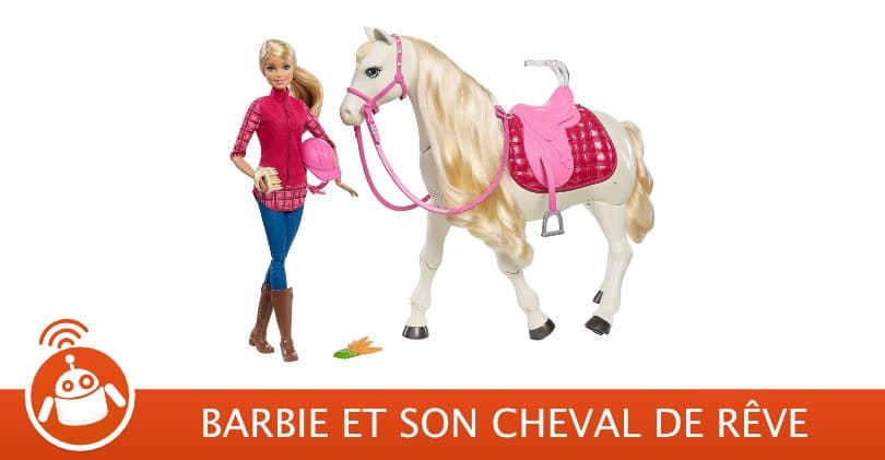 Acheter Barbie et son cheval de rêve – Un cheval qui hennit et danse [Test & Avis]