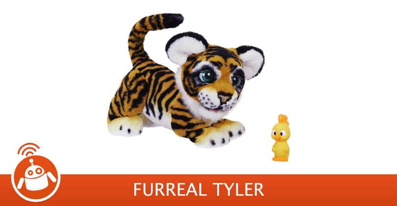 FurReal Tyler : Test & Avis | Peluche Tigre interactive