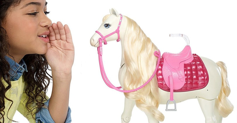 Barbie et son cheval de r ve test avis poup e mannequin mattel - Chevaux barbie ...