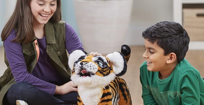 Mon avis sur FurReal Tyler, le tigre trop mignon