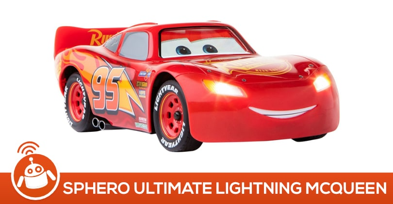 sphero ultimate lightning mcqueen test avis voiture flash mcqueen. Black Bedroom Furniture Sets. Home Design Ideas
