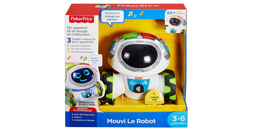 Déplacez le robot qui fera les enfants