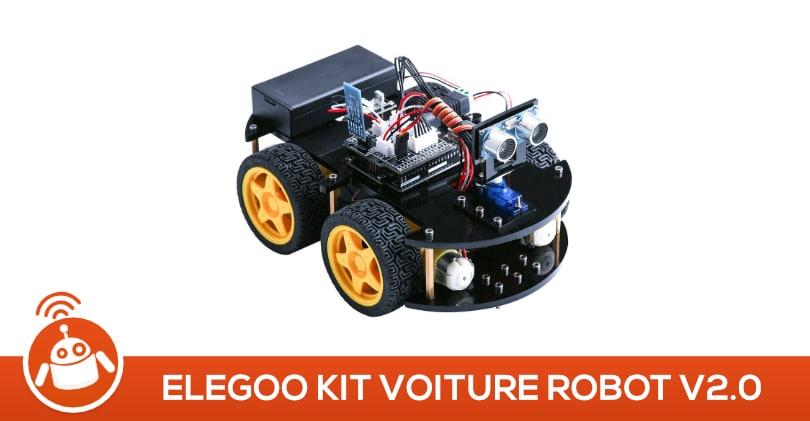 elegoo kit voiture robot v2 0 test avis robot ducatif programmable. Black Bedroom Furniture Sets. Home Design Ideas