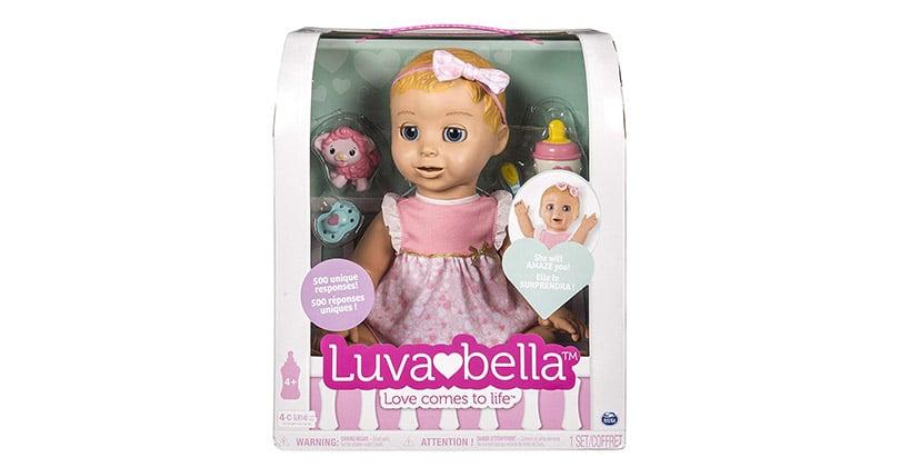 Mon avis sur Luvabella la poupée interactive élue Jouet de l'année2018