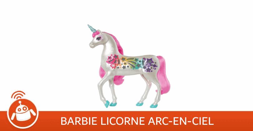 Mon avis sur la licorne Barbie arc-en-ciel sons et lumières