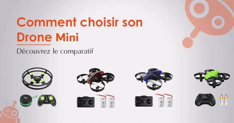 Comparatif / Comment choisir et bien acheter un mini drone