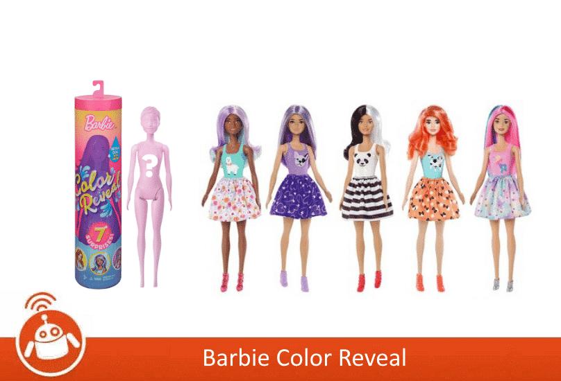 NALR - barbie Color Reveal